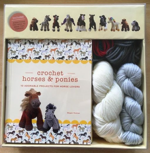 Crochet horses and ponies kit by Megan Kreiner