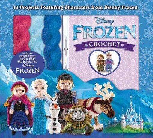 New Disney Frozen Crochet Kit
