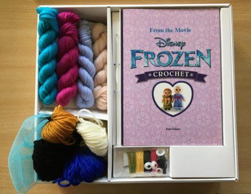 Disney Frozen Crochet Kit contents