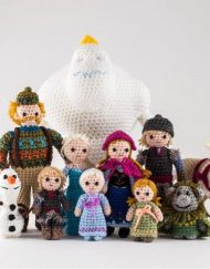 New Disney Frozen Crochet characters