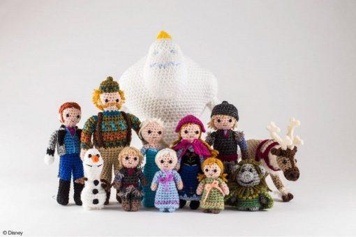 New Disney Frozen Crochet characters