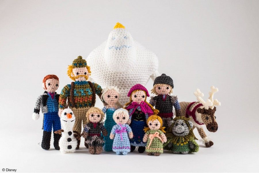 Crochet Lion Kit - Woolly Chic Designs | 600x900