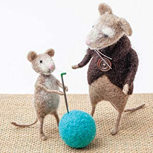 Needle Felting for Beginners Roz Dace Mice