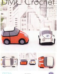 DMC Cool Cars crochet pattern