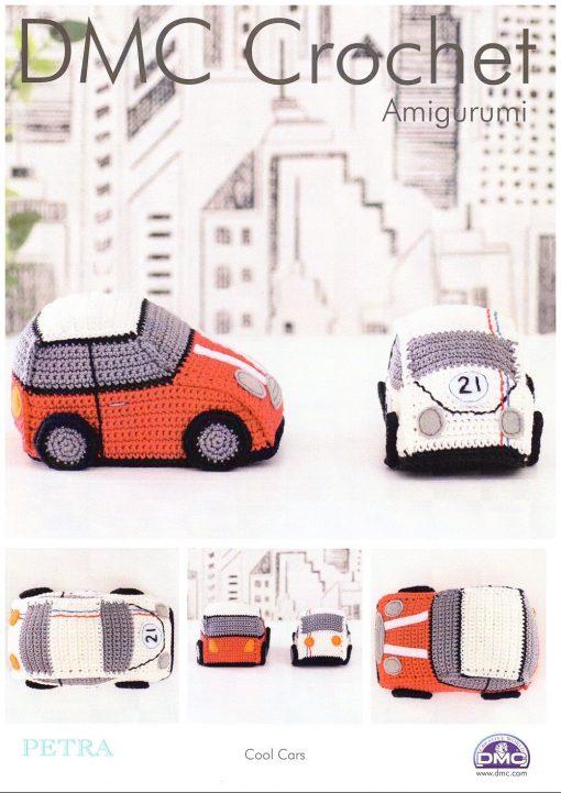DMC Cool Cars crochet pattern