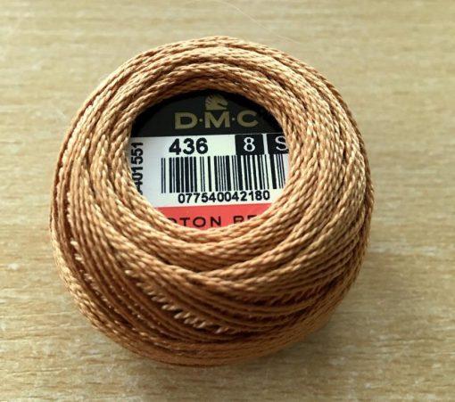 DMC Cotton PerleThread 8 436