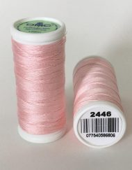 DMC Cotton Sewing Thread 2446 Pale Pink
