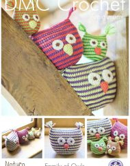 DMC Family of Owls crochet pattern