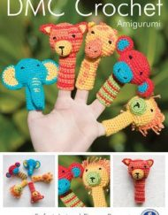 DMC Safari Animal Finger puppets crochet pattern