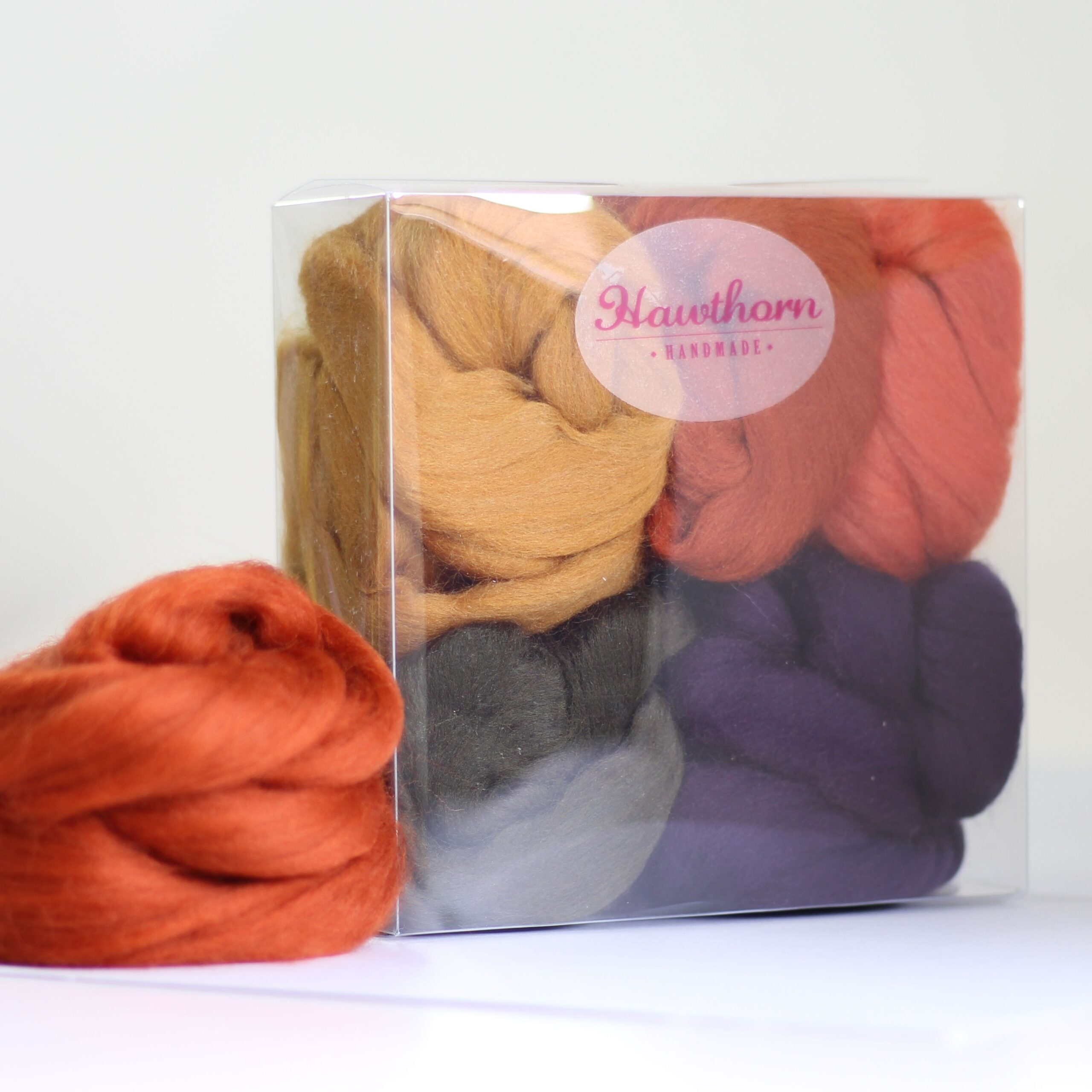 Hawthorn Handmade Merino Wool for needle felting