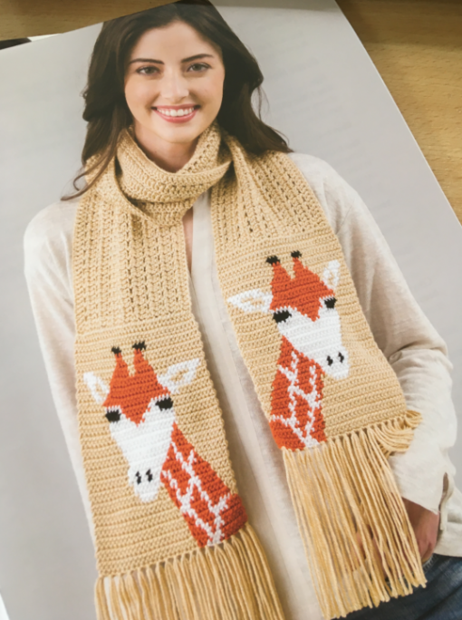 Animal Scarves and Infinity Cowls Giraffe scarf