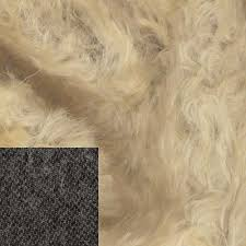 Helmbold White Gold on Brown Mohair