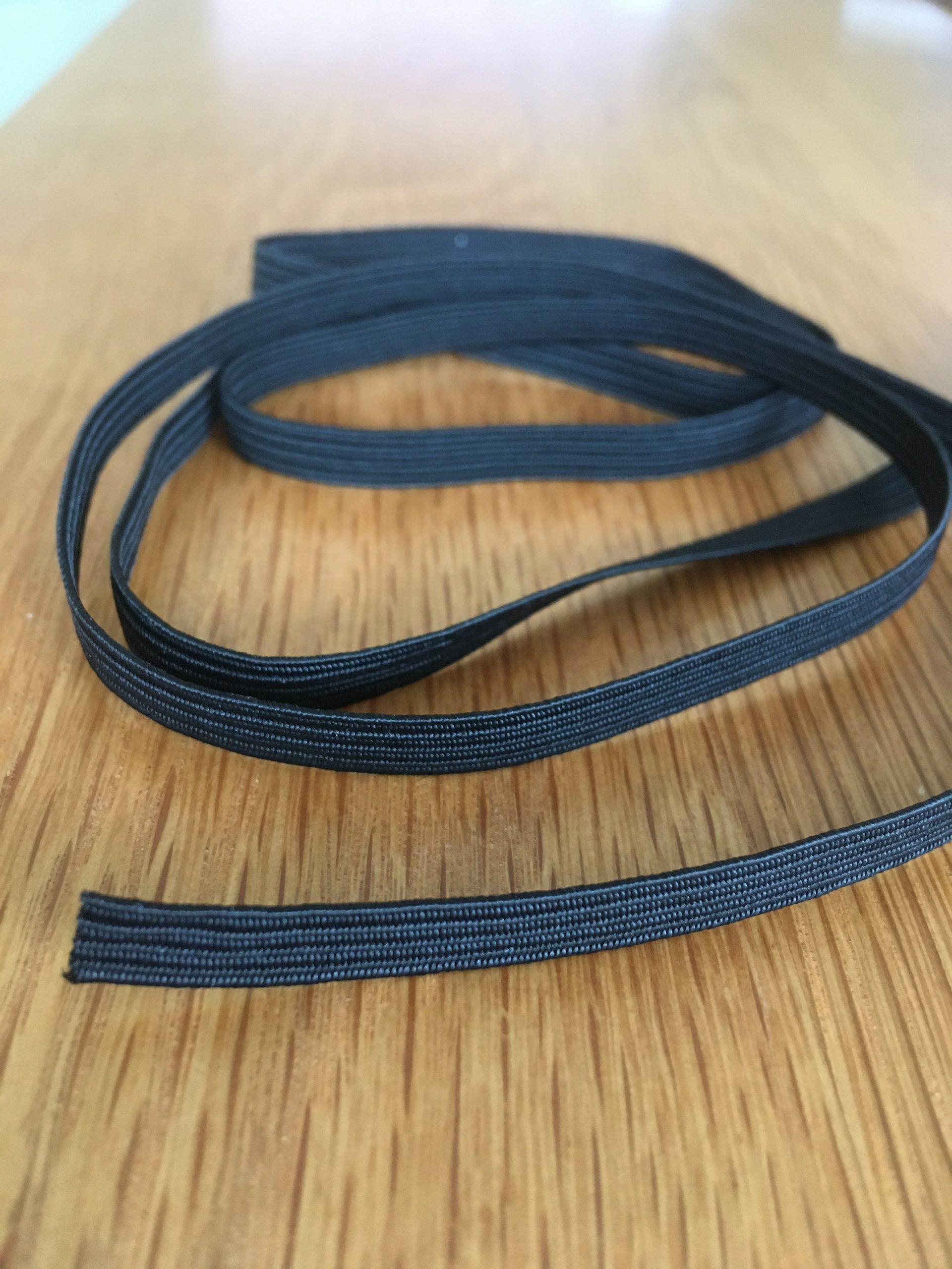Quality Black 6mm Elastic