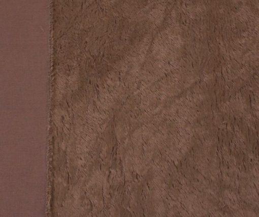 Steiff Schulte 6mm Viscose Fabric - Chocolate
