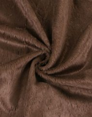 Steiff Schulte 6mm Viscose Fabric - Chocolate