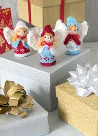 Angels - Tiny Christmas Toys to Knit