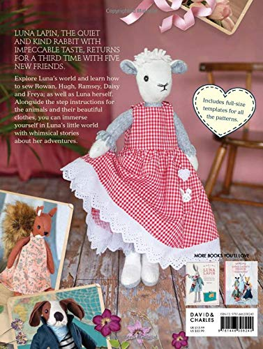 Luna Lapin Making New Friends back cover