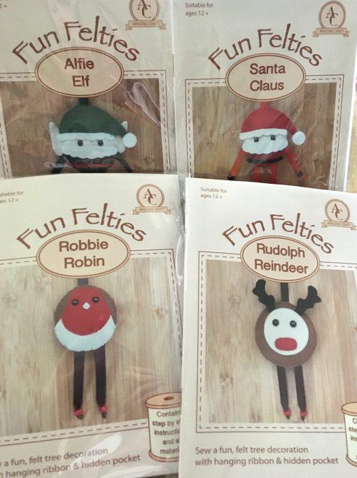 Felt Christmas Decoration Kits