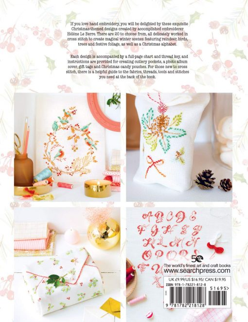 Cross Stitch Christmas book by Helene le Berre