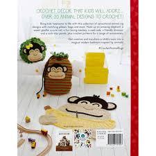 Crochet Animal Rugs - back cover
