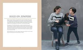 Dogs on jumpers dachshund