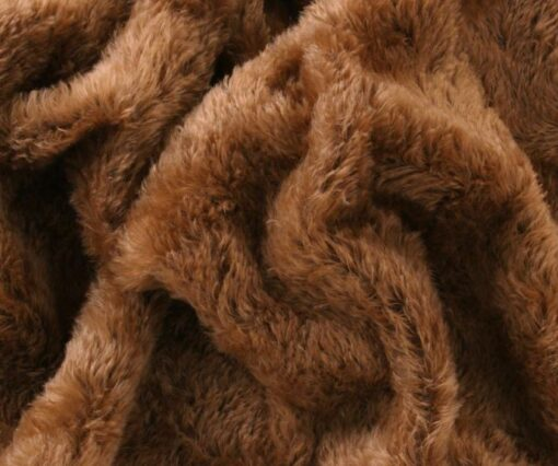 Helmbold 20mm Swirl Mohair Caramel on Brown