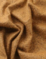 Helmbold Mohair 12mm Sparse - rust on brown