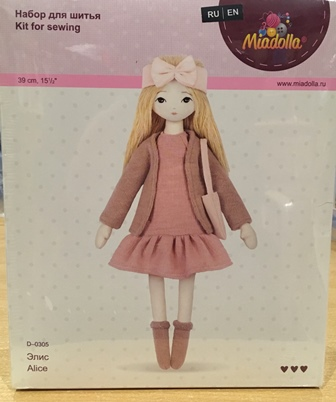 Miadolla Alice doll kit box