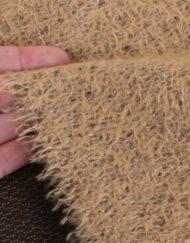 Helmbold Mohair 12mm Sparse - Beige on Brown