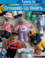 Twenty to Knit - Dressed up bears