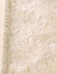 Helmbold Mohair 20mm Whirl - Pearl on Cream