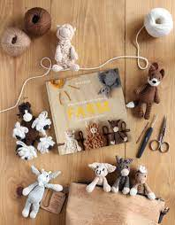 Kerry Lord How to crochet farm animals