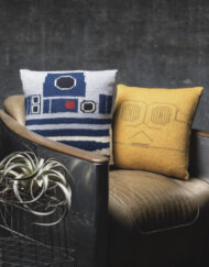 Star Wars Cushions Knitting Pattern