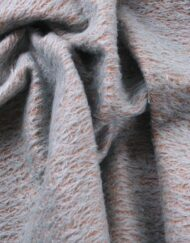 Helmbold Mohair 12mm Sparse - Blue on Tan